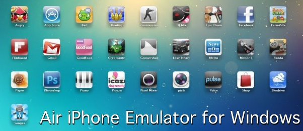 air iphone emulator for windows pc