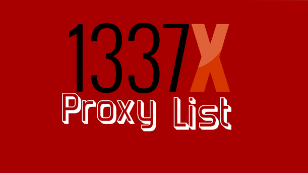 1337 proxy list and mirror sites