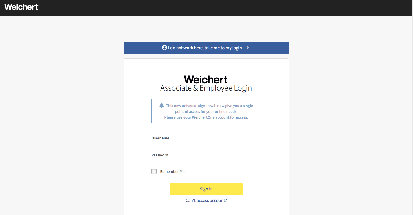 Weichert login guide